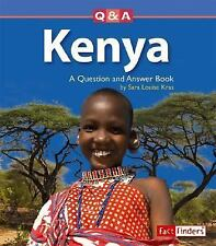 Kenya: A Question and Answer Book (Questions and Answers: Countries)-ExLibrary