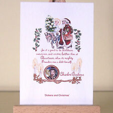"Vintage illustration ""A Christmas Carol"" ACEO Card Holiday Art Charles Dickens"
