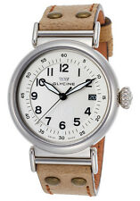 Glycine Men's 3933.14AT-LB7R F 104 Automatic White Dial Brown Leather Watch