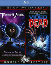 TERRORVISION + THE VIDEO DEAD New Blu-ray + DVD  HORROR HAPPY HALLOWEEN GLOBAL