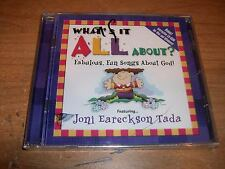 What's It All About? Fabulous Fun Songs About God! Music CD Bonus CD ROM Win Mac