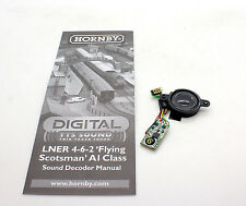 HORNBY DIGITAL CLASS A1 FLYING SCOTSMAN TTS SOUND DECODER AND SPEAKER *NEW* (5F)