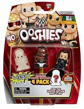 Ooshies 4 Pack WWE Wrestling Figures - Jey Uso, Roman Reigns & Randy Orton 76439