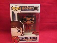 Funko Pop! HARRY POTTER with Broom Quidditch  #08 Hot Topic Excl  (G216HP&SH)