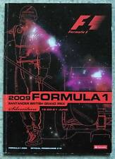 BRITISH GRAND PRIX SILVERSTONE 2009 FORMULA ONE F1 Official Race Programme