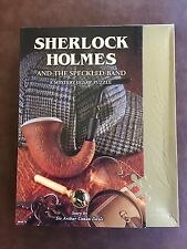 1000 PIECE JIGSAW PUZZLE BEPUZZLED SHERLOCK HOLMES AND SPECKLED BAND NEW SEALED
