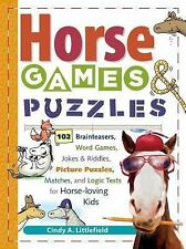 Horse Games and Puzzles for Kids : 102 Brainteasers, Word Games, Jokes and...