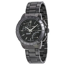 Timex Intelligent Quartz Black PVD Stainless Steel Mens Watch T2N500