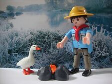 PLAYMOBIL LOT 207 BOY SCOUT SCOUTISME JAMBOREE AVENTURE NATURE CAMP BADEN POWELL