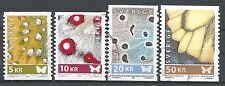 ˳˳ ҉ ˳˳SW21 Sweden Sverige Complete set 2007-08 Butterfly Wings High Values