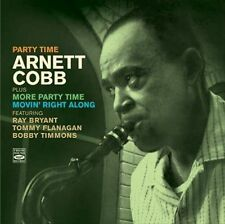 Arnett Cobb - Party Time + More Party Time + Movin' Right Along (CD, Oct-2012)