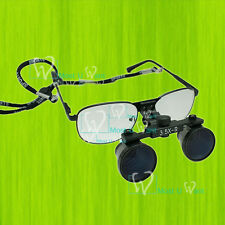 Dental New Surgical Medical Binocular Eye Loupe Frame Glasses 3.5 Amplification