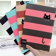 FD1025 Student Diary Note Book Happy Cat Stationery Large Notepad ~Random~ 1pc: