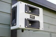 ADJUSTABLE ULTRASONIC REPELLER, WALL MOUNTABLE & WEATHERPROOF - RAT REPELLER.
