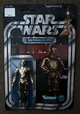 STAR WARS C 3PO c3po 12 back figure 1977 Kenner  Vintage original droid good