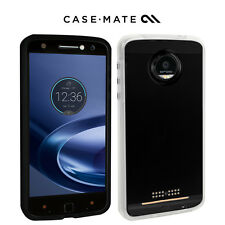 NEW Case-Mate Naked Tough Case for Motorola Moto Z Force Clear with Clear Bumper