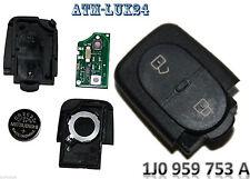 VW Seat Skoda Schlüssel Sendeeinheit Golf 4 IV Leon 1J0959753A 433,92Mhz NEU A16