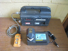 Huskie REC-P500 Hydraulic Pump w/ Pendant Rebuilt BP-70E Battery CH-35R Charger