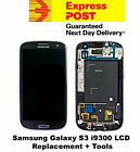 Samsung Galaxy S3 i9300 LCD Digitizer Touch Screen Frame Replacement Black +Tool