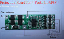 Battery Protection PCB Board for 4 Pack 12V LiFePO4 Cell max10A Balance Charging