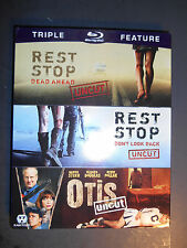 Rest Stop: Dead Ahead/Rest Stop: Don't Look Back/Otis Blu-ray W/Slipcover