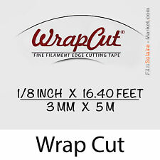 """WrapCut"" - 5m, fil de coupe film vinyl, adhésif, covering, wrap, Filament Tape"