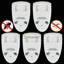 5x Magnetic Electronic Ultrasonic Anti Rat Mouse Bug Mosquito Flea Pest Repeller