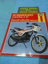 KAWASAKI AR50/80 .AE50/80  ,  OWNERS WORKSHOP MANUAL new manual .