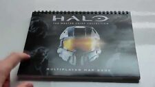 * HALO MASTER CHIEF COLLECTION XBOX ONE MULTIPLAYER MAP BOOK * NEW