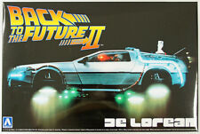 Aoshima 11867 Back to the Future Part 2 Delorean 1/24 scale kit