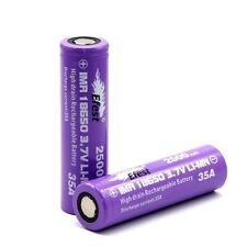 2 Of Efest 3000mAh 35A IMR 18650 3.7V Purple Battery High Drain Li-Mn Battery