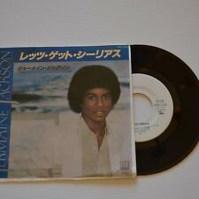 "Jermaine JACKSON - Let's get serious - 1980 7"" SINGLE JAPAN PROMO COPY"