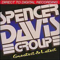 The Spencer Davis Group  Greatest and Latest JAPAN CD 1986