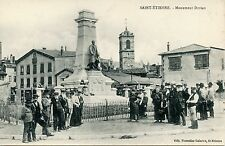 CARTE POSTALE / SAINT ETIENNE MONUMENT DORIAN