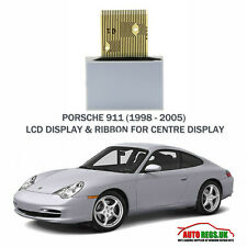 Porsche 911 996 998 Dashboard Centre LCD Display  Ribbon Cable Replacement - NEW
