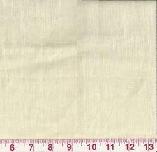 98% Linen Drape Upholstery Fabric Ralph Lauren Southgate Linen Vellum MSRP $104