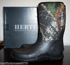 HERTER'S NEOPRENE CAMO WATERPROOF BOOTS SLIP ON SIZE 13 REGULAR BRAND NEW IN BOX