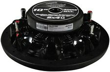 """Audiopipe TSFA100 10"""" Shallow Mount Subwoofer 400W Max"""