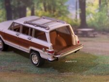JEEP WAGONEER COLLECTIBLE 1/64 SCALE DIECAST MODEL DIORAMA OR DISPLAY