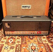 Vintage 1970s Laney Klipp 100w UK Valve Amplifier Amp Head SERVICED