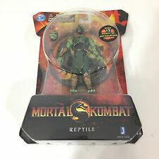 Mortal Kombat MK9 4in Reptile Action Figure Jazwares Toys NEW NIP