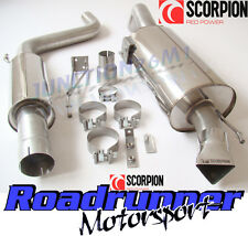 "Scorpion Corsa VXR Exhaust 3"" Cat Back Resonated System Stainless Quieter SVX054"
