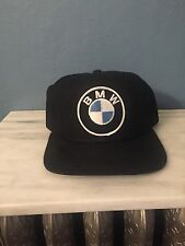 Vintage BMW Snapback Cap Hat Retro Throwback Racing Euro baseball race german