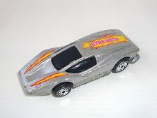 Miniature ancienne Hot Wheels Silver Bullet Mattel Malaysia 1974 Ultra Hots