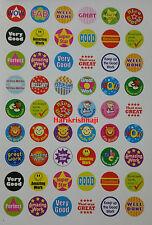 780 Children's Reward Stickers Chart Motivation Kids Teacher School Well Done C