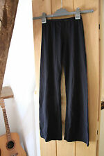 Roch Valley Black Dance Trousers / Jazz Pants Size 2 (130 -140 cms)