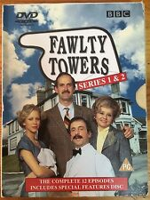 Fawlty Towers Series 1 & 2 (DVD, REGIONS 2 & 4)