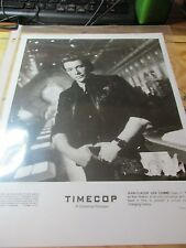 Time Cop  8 X 11 Photo of Jean-Claude Van Damme  Paramount Release