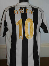Newcastle united home shirt (2006/2007 * owen 10) petits hommes #320