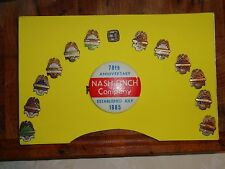 ANTIQUE 1953-1967 NASH & FINCH SAFETY AWARD PINS/BUTTON STERLING AND GOLD FILLED